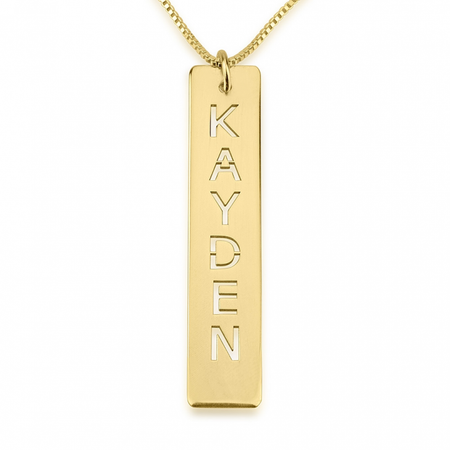 Classy Name Necklace With Charm