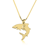Baby Shark Alphabet Necklace - LazerPoints.com