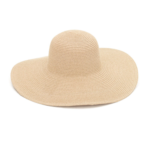 Natural Adult Floppy Hat - LazerPoints.com