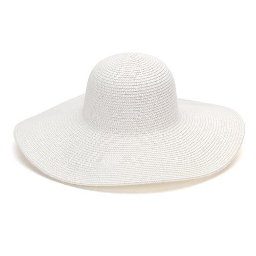 White Adult Floppy Hat - LazerPoints.com