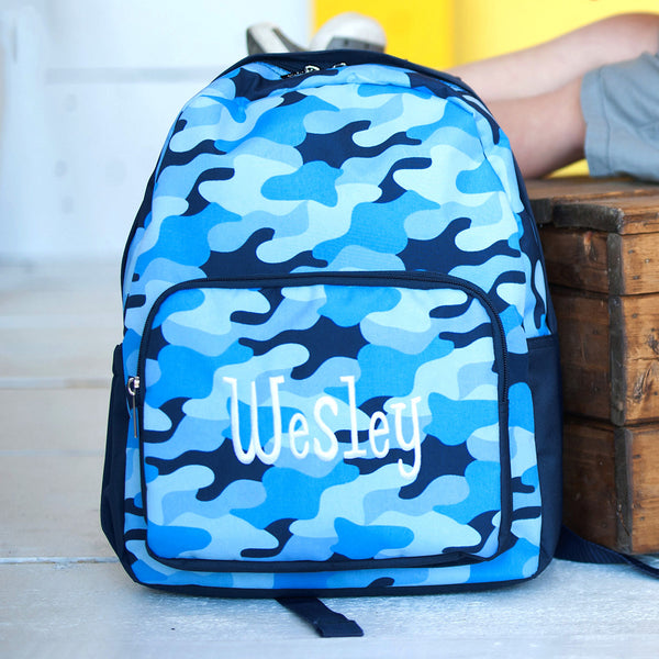 Cool Camo Preschool Backpack - LazerPoints.com