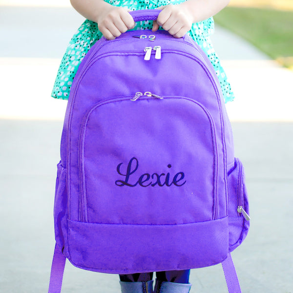 Purple Backpack - LazerPoints.com