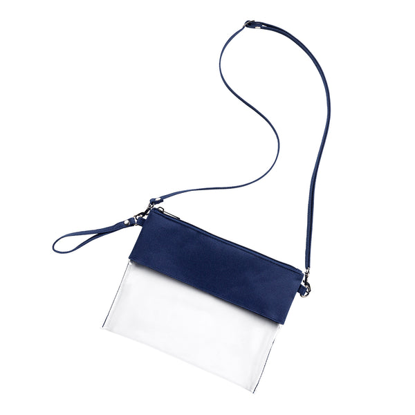Navy Clear Purse - LazerPoints.com