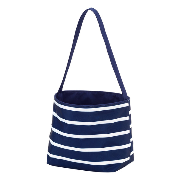 Navy Stripe Easter Bucket - LazerPoints.com