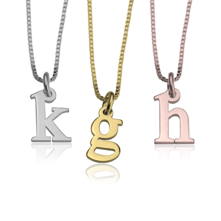 Personalized Single Bar Necklace - Gold Plated