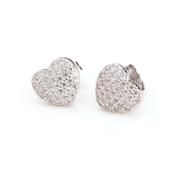 Cubic Zirconia Stud Earrings - LazerPoints.com