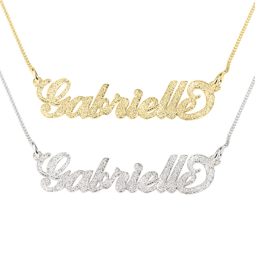 Sparkle Cutie Name Necklace - LazerPoints.com