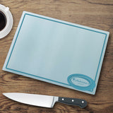 Personalized Glass Cutting Board - Retro Style - LazerPoints.com