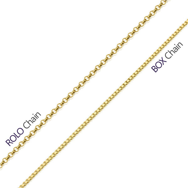 3-Initials Monogram Necklace - Gold Plated - LazerPoints.com