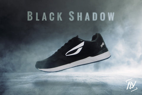 "JIYO ""FLY"" PARKOUR SKO, BLACK SHADOW - parkourshop"