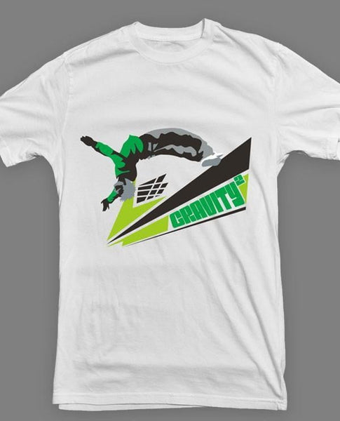 Gravity2 - Parkour T-shirt, hvid - parkourshop