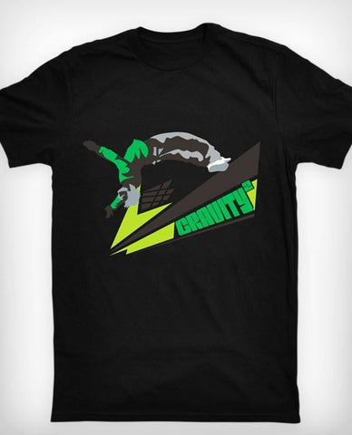 Gravity Parkour T-shirt, sort - parkourshop