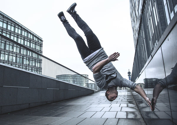 Upside down - Parkour plakat - parkourshop
