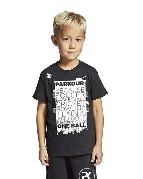 BALLS TEE, SORT - parkourshop