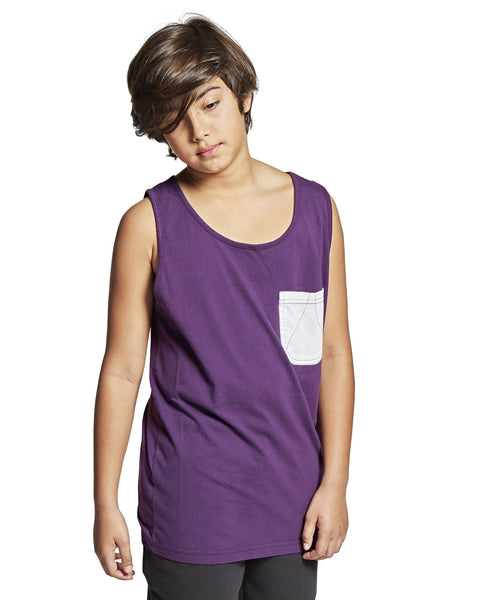 TANK W/CHEST POCKET - parkourshop
