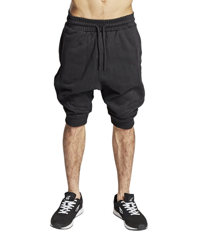 """Cuff"" shorts, sort - Parkourshoppen"