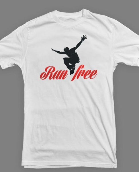 """RUN FREE"" TEE - parkourshop"