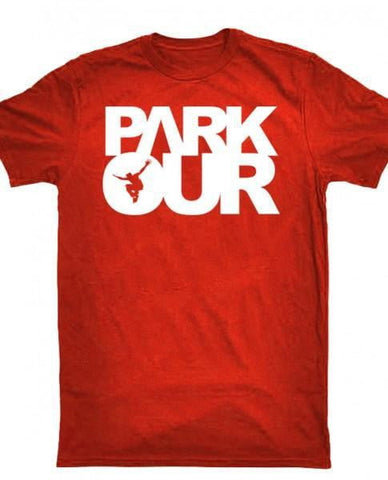 T-shirt med box logo - parkourshop