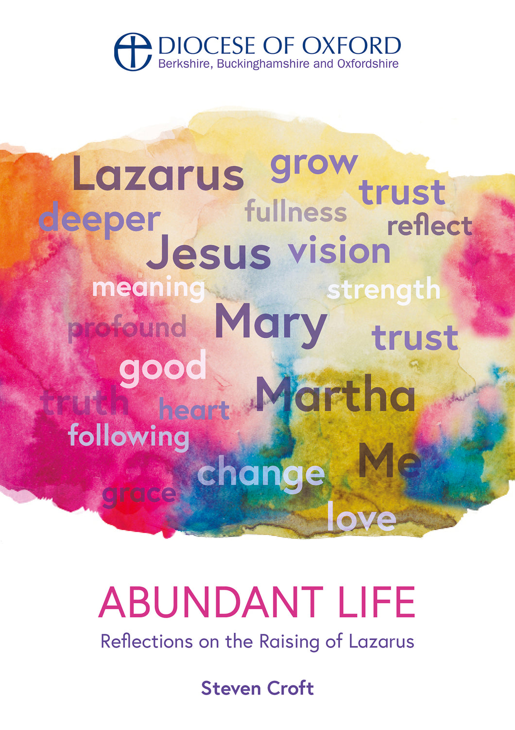 Front cover of Abundant Life, written by the Rt Rev Dr Steven Croft