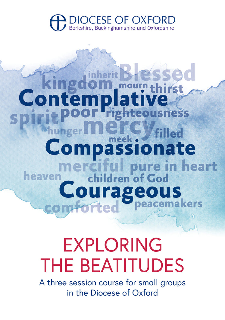 Front cover of Exploring the Beatitudes, written by the Rt Rev Dr Steven Croft