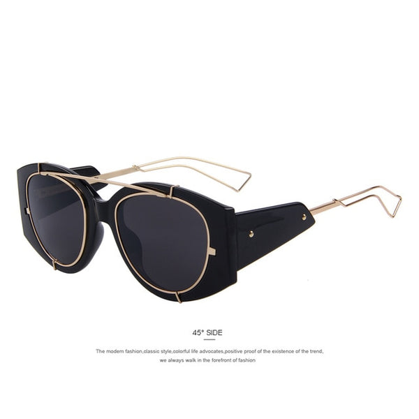 MERRY'S Fashion Women Sunglasses Men Classic Brand Designer Sunglasses Double-Bridge Shades UV400