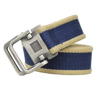 HEE GRAND 2017 New Fashion Canvas Adult Man Belts Solid Fabric Casual Men Belts PYB096