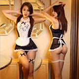 Maid Uniform Costumes Role Play 2016 Women Sexy Lingerie Hot Sexy Underwear Lovely Female White Lace Erotic Costume 25