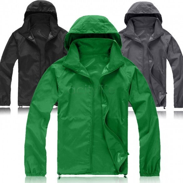Fashion Men Women Plus Size Coat Raincoat Protective brand Clothing Off White Waterproof sporting Jacket For Unisex Windbreaker