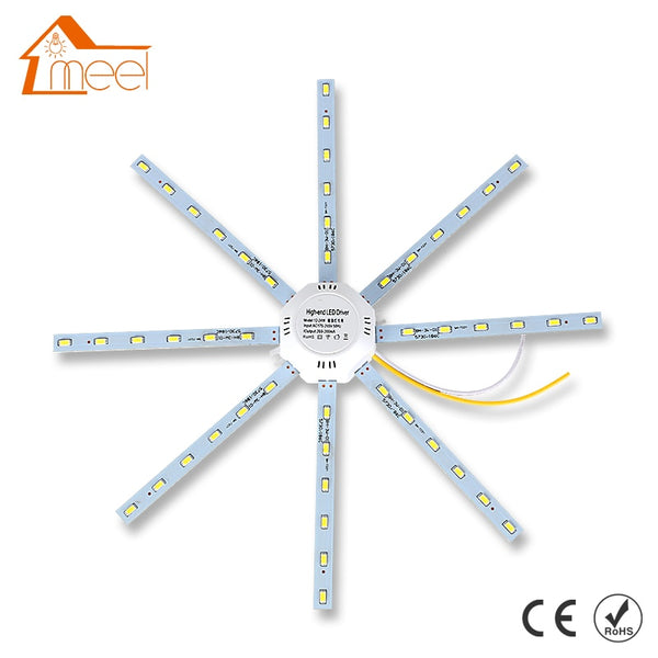 LED Ceiling Lamp Octopus Light 12W 16W 20W 24W LED Light Board 220V 5730SMD Energy Saving Expectancy LED Lamp Indoor Lighting