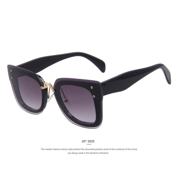 MERRY'S Sunglasses Women Newest Brand Designer Acetate Frame Sun Glasses Coating Flat Lens UV400 S'8652