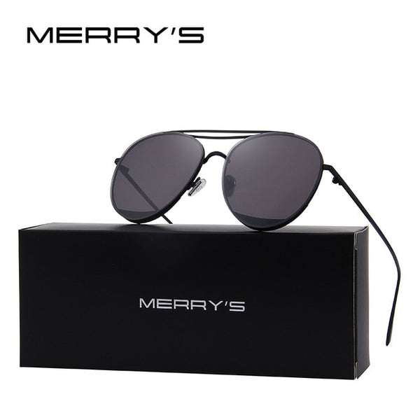 MERRY'S 2017 New Arrival Women Classic Brand Designer Rimless Sunglasses Twin Beam Metal Frame Sun Glasses S'8095