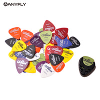Assorted Thickness and Colors 20pcs Guitar Picks Alice Matte Acoustic Electric  Picks+1 Alice Guitar Picks Holder bag Case