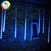 Coversage Led 30CM 50CM Meteor Shower Rain Tube Garland Christmas Tree Luces Navidad Decorative Xmas Outdoor Fairy Lights String