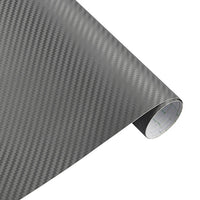 30cmx127cm 3D Carbon Fiber Vinyl Car Wrap Sheet Roll Film Car stickers and Decals Motorcycle Car Styling Accessories Automobiles