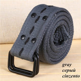 [COWATHER]hot sale high quality canvas unisex blets nine colors 2017 fashion style newest design neutral belt original brand