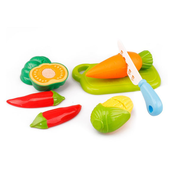 6PC/set children's kitchen toys pretend play Cutting Fruit Vegetable Toy Pretend Play Educational Toys for children
