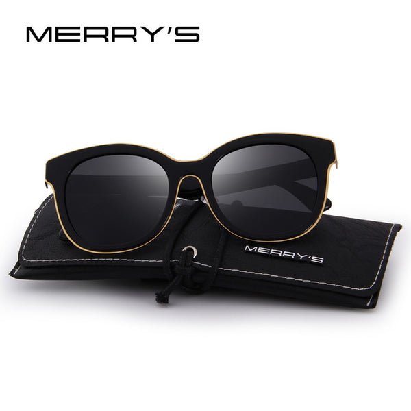 MERRY'S Women Fashion Cat Eye Polarized Sunglasses 100% UV Protection S'6075