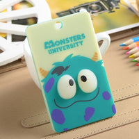 PVC Card Holders & Note ID Credit card holder Cartoon minions Panda Doraemon storage stationery Office school kids card supplies