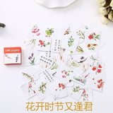 40 PCS/box Mini Cartoon Paper Sticker Decoration Decal DIY Album Scrapbooking Seal Sticker Kawaii Stationery Gift Material Escol