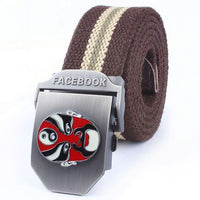 High quality! MYDBSH brand Army Tactical Belt Mens Canvas belt outdoor sport Strap Military belts for Men 110-140CM 10 Colors