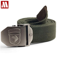 Fashion Automatic Buckle Belts Top Quality Braided Canvas Cummerbunds Men Leisure Canvas Belts Merchant Successful Man Belt
