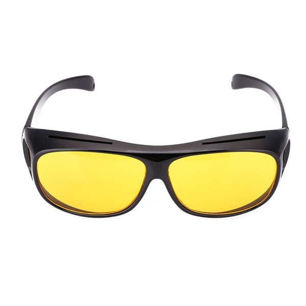 Vehemo Unisex HD Yellow Lenses Sunglasses Men Women Sunglasses Night Vision Goggles Car Driving Driver Glasses Eyewear UV 400