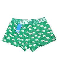 Elephant Pattern Cotton Underwear Boxers Underwear Summer Pants BK L