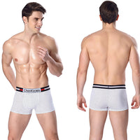 Fashion Mens Brief Cotton Dot Underwear Shorts Boxers Underpants BK/L