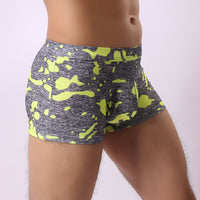 Sexy Mens Camouflage Breathe Underwear Briefs Bulge Pouch Shorts Underpants