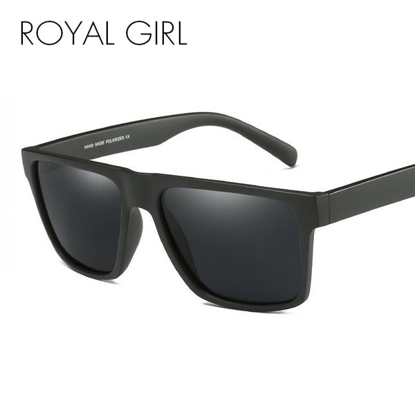 ROYAL GIRL Fashion Vintage Polarized Sunglasses Men Classic Brand Design Men Retro Sun Glasses Male gafas oculos de sol SS504