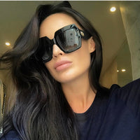 ROYAL GIRL Retro Square Sunglasses Women Dick brand designer sunglasses Shades ss820