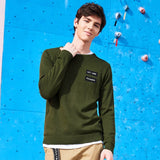 Pioneer Camp New arrival autumn Sweaters men brand clothing letter printed casual pullover male quality blue green AMS705188