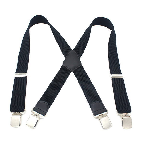 Adjustable X-shaped Suspender | 4 Clips