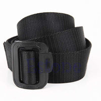 Free Shipping New Unisex Boy Adjustable Nylon Military Belt Tactical Rappelling Men Waistband